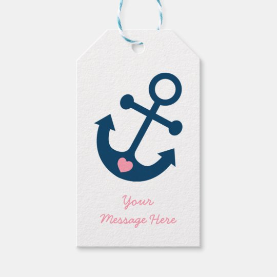 Pink Nautical Anchor Baby Shower