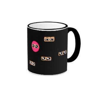 Pink ninja mugs