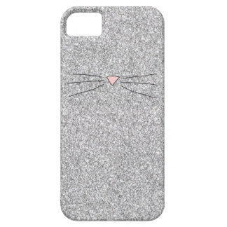 Pink Nose Glitter Print Phonecase iPhone 5 Covers