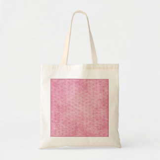 Pink Nubby Chenille Fabric Texture Tote Bag