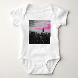 pink ny.jpg baby bodysuit