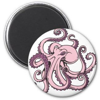 Pink Octopus Magnet