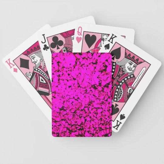 Pink Oddity Poker Deck