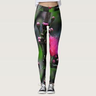 Pink Ohia Leggings