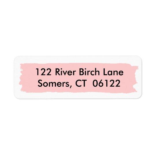 Pink Ombre Cake, Matching Address
