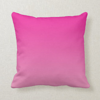 """Pink Ombre"" Cushion"