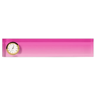 Pink Ombre Name Plate