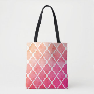 Pink Ombre Sunrise Tote Bag