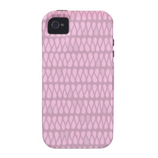Pink Ombre Twist iPhone 4 Cover