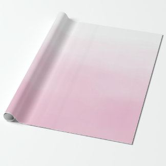 Pink Ombre Wrapping Paper