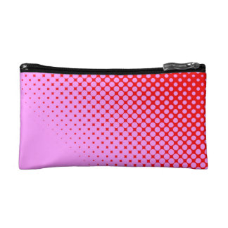 Pink or Red Small Cosmetic  Bag