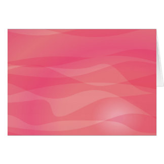 Pink Orange Abstract Pattern Note Card