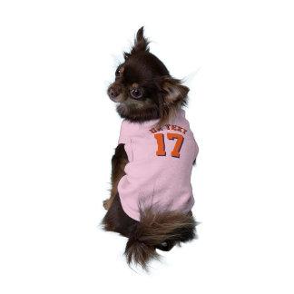 Pink & Orange Pets | Sports Jersey Design Shirt