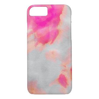 Pink Orange Wash Case