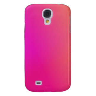 Pink Orange Yellow Ombre Galaxy S4 Case