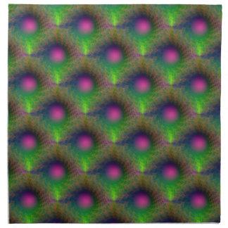 Pink Orb Tiled American MoJo Napkins