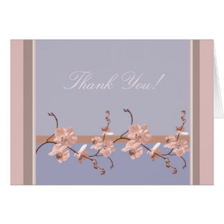 Pink Orchid Customizable Card