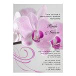 Pink Orchid Elegance Wedding Rehearsal Dinner