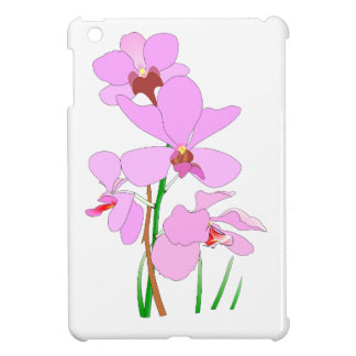 Pink Orchid Flowers iPad Mini Cases