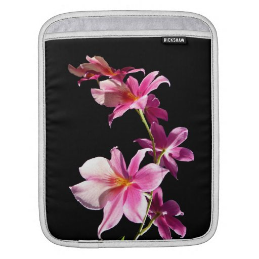 Pink Orchid. Sleeve For iPads