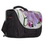 Pink Orchid Laptop Commuter Bag