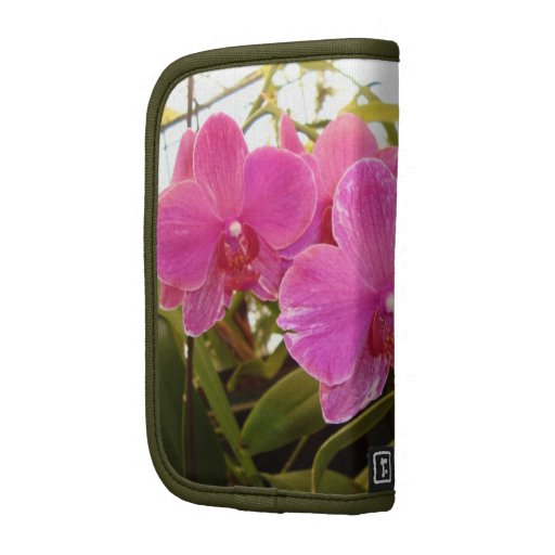 Pink orchid folio planners