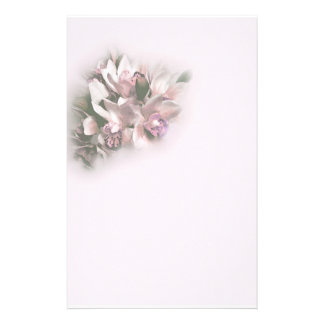 pink orchids 1 customised stationery