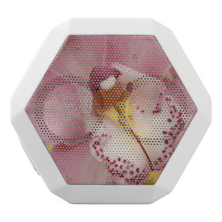 Pink Orchids White Boombot Rex Bluetooth Speaker
