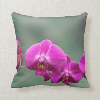 Pink Orchids Cushion