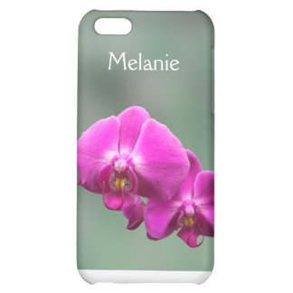 Pink Orchids Cover For iPhone 5C