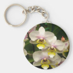 Pink Orchids Keychain