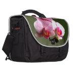 Pink Orchids Laptop Computer Bag