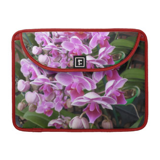 Pink Orchids MacBook Pro Sleeve