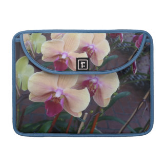 Pink Orchids Sleeves For MacBook Pro