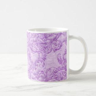 Pink Ornate Mug