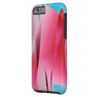 Pink over Blue case for iPhone 6 tough style Tough iPhone 6 Case