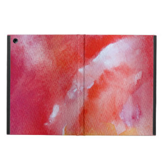 Pink Overflow  iPad Air Case with No Kickstand