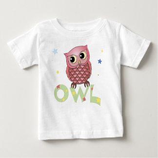 Pink Owl Infant shirts