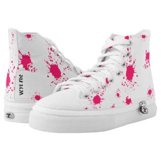 Pink paint splash Urban Hype Printed Shoes
