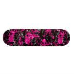 Pink Paint Splatter Skate Board Deck