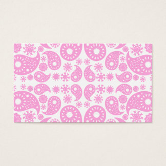 Pink Paisley. Business Card