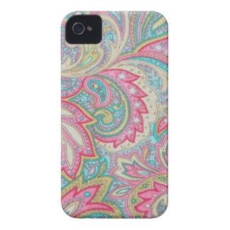 Pink Paisley iPhone 4 Case-Mate Cases