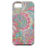Pink Paisley iPhone 5 Cover
