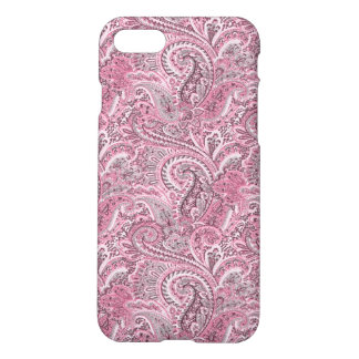 Pink Paisley Iphone 7 Matte Case