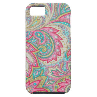 Pink Paisley Tough iPhone 5 Case