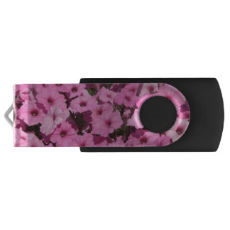 pink pansy flash drive