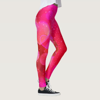 Pink Panther Hearts Leggings