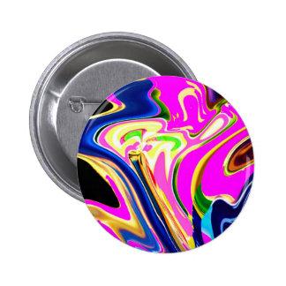 Pink Panther - Natural Healing Hand V1 6 Cm Round Badge