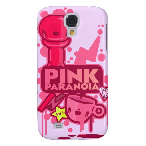 Pink Paranoia Samsung Galaxy S4 Covers
