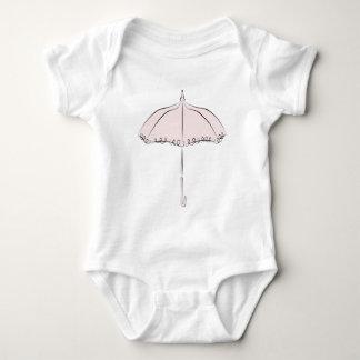 Pink Parasol Baby Bodysuit